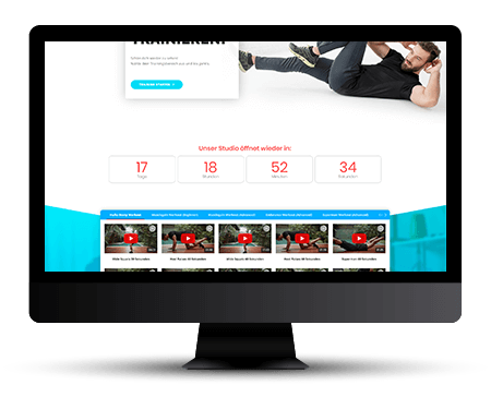 fitmotion Newsfeed - fitness Video-Portal